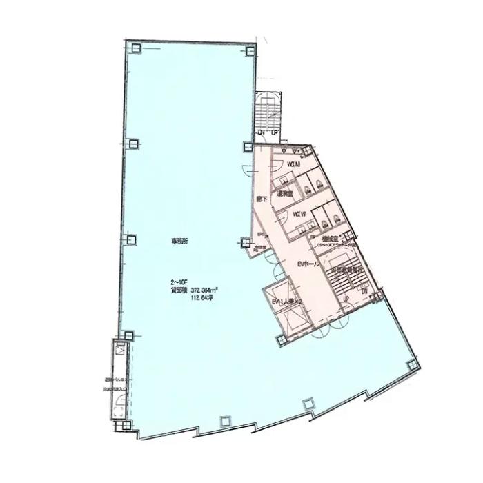 則武1 (仮称)中村区則武1丁目プロジェクト 平面図