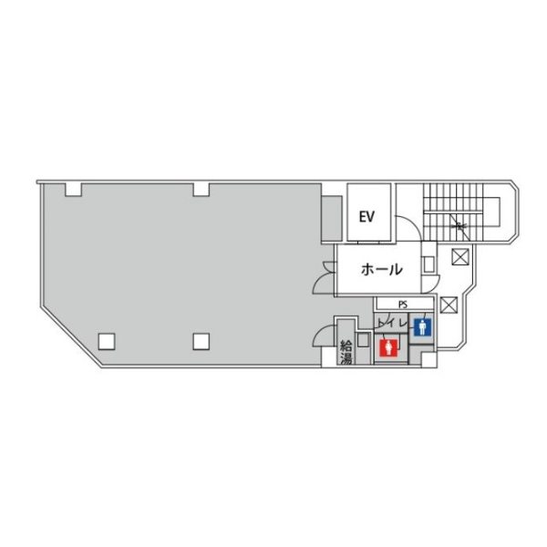 瑞穂通 新瑞センタービル 平面図