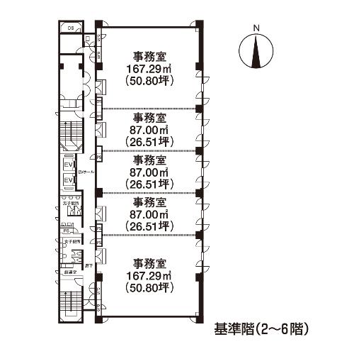 錦1 いちご錦ファーストビル 平面図