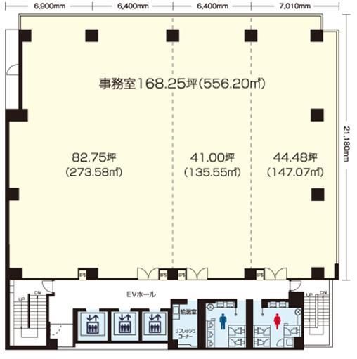 名駅4 メイフィス名駅ビル 平面図