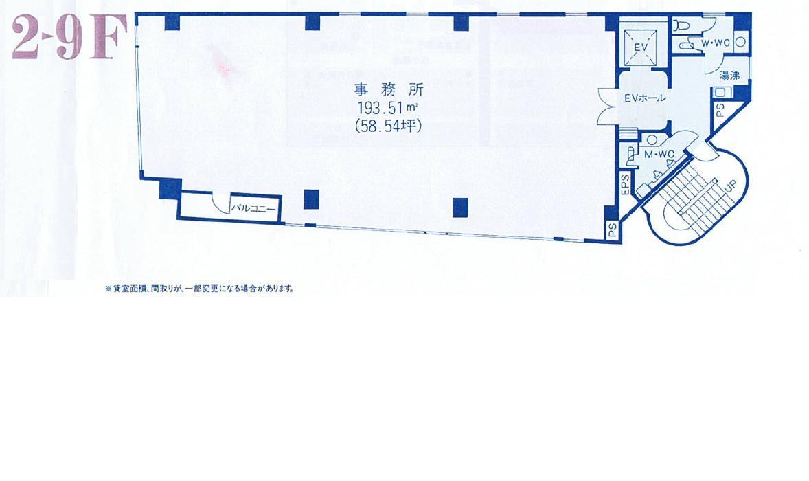 名駅5 名駅KDビル 平面図