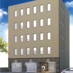 【スクエアオフィス名駅東】2階21.78坪 中村区名駅3丁目、全室採光良好な新築オフィスビル
