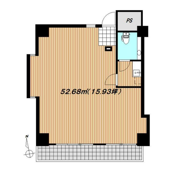 覚王山通8 ライオンズマンション覚王山通り 平面図