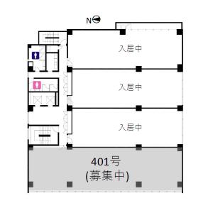 丸の内三丁目ビル 401平面図