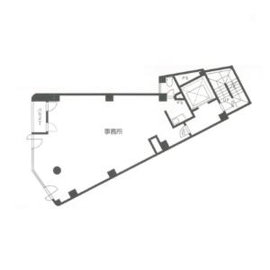 KGビル 5階 平面図