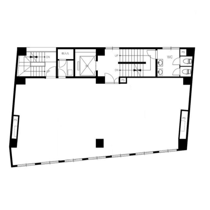 葵3 サンプレー名古屋ビル 平面図