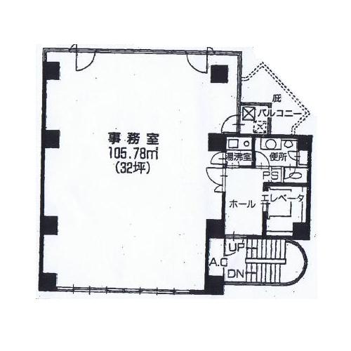 丸の内1 LOMASビル 平面図