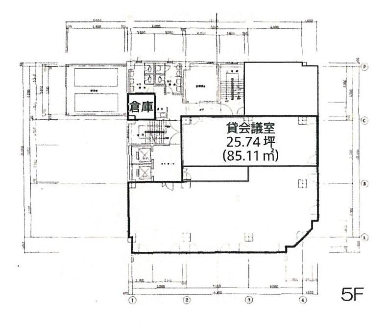 錦3 太陽生命名古屋第2ビル 平面図