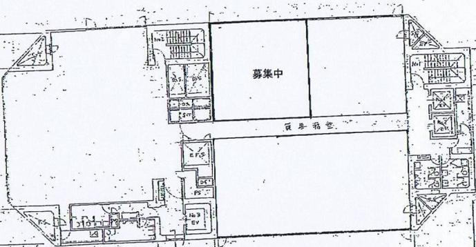 栄2 ポーラ名古屋ビル 平面図