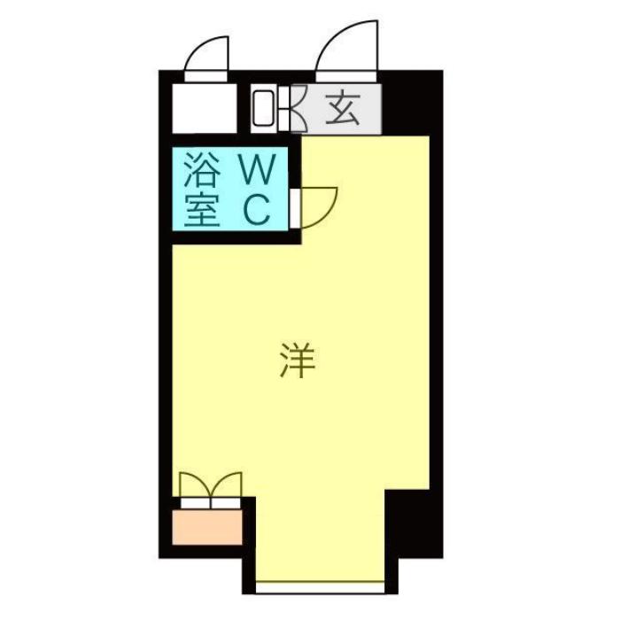 金山1 金山ハイホーム 平面図