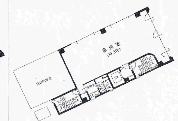 錦1 山田ビル 平面図