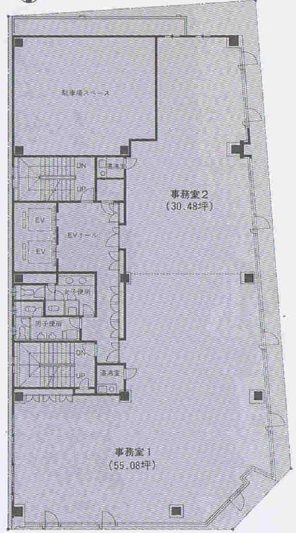 栄1 ヤスイビル 平面図