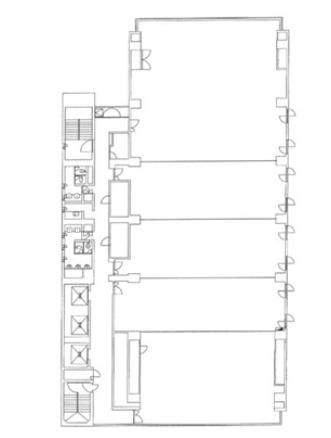 栄4 日建・住生ビル 平面図