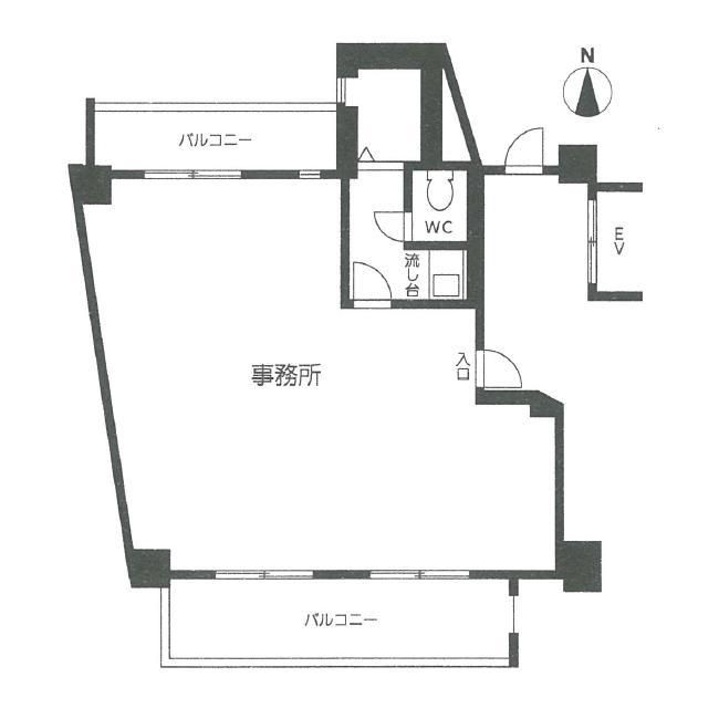 栄3 シーアイマンション南大津 平面図