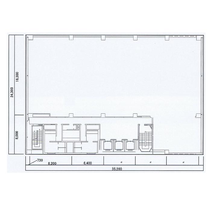 錦2 名古屋センタービル別館 平面図