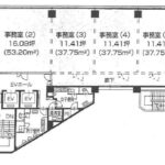 葵3 第14オーシャンビル 平面図