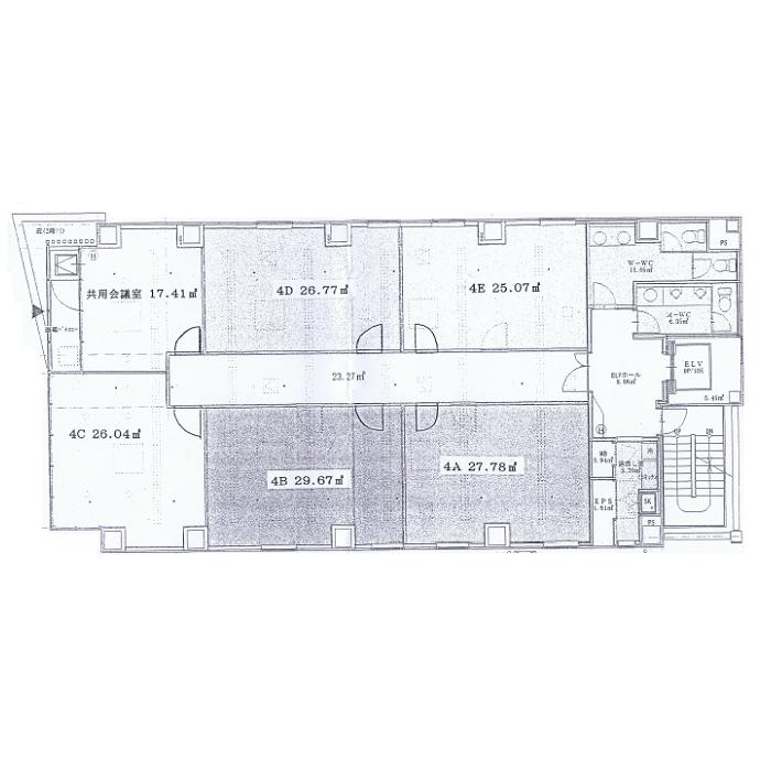 丸の内2 丸の内A・Tビル 平面図
