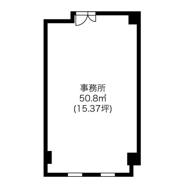 千代田5 アパートメント千早 平面図