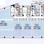 名駅南1 名古屋三井ビルディング新館 平面図