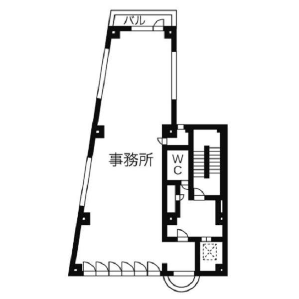 竹橋町 オイセタウンビル 平面図