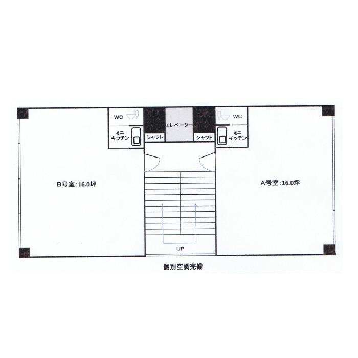 栄1 GS白川公園ビル 平面図