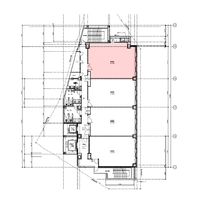 金山1 NFC金山駅前ビル 平面図