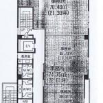 春岡1 YAMAMAN仲田ビル 平面図