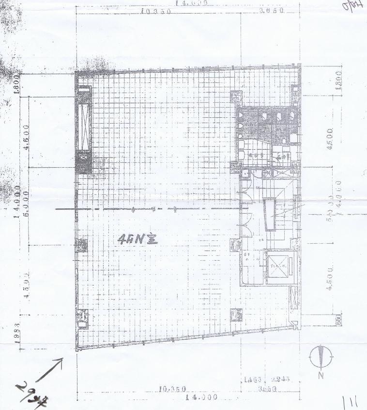 名駅4 三喜ビル 平面図
