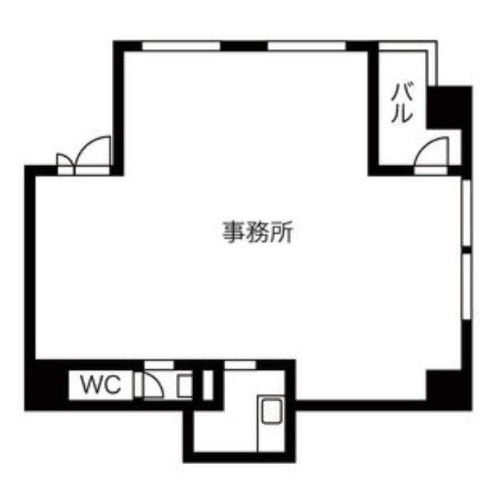 伊勢山1 レジデンシア東別院 平面図
