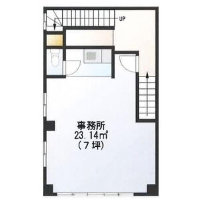東桜1 板倉屋ビル 平面図