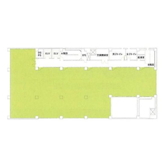 泉1 NBN泉ビル 平面図