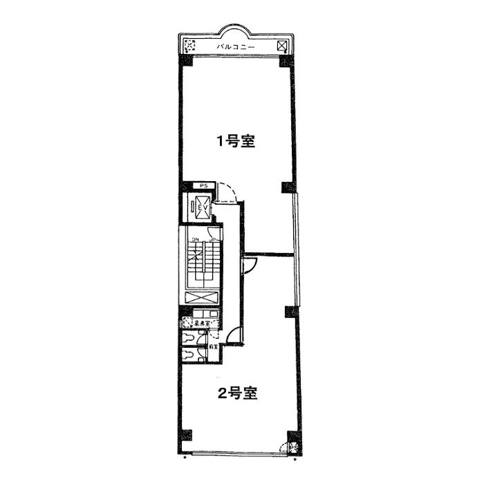 丸の内1 長尾ビル 平面図