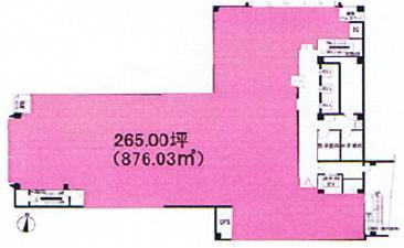 栄2 伏見第一ビル 平面図