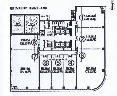 錦2 ORE錦二丁目ビル 平面図