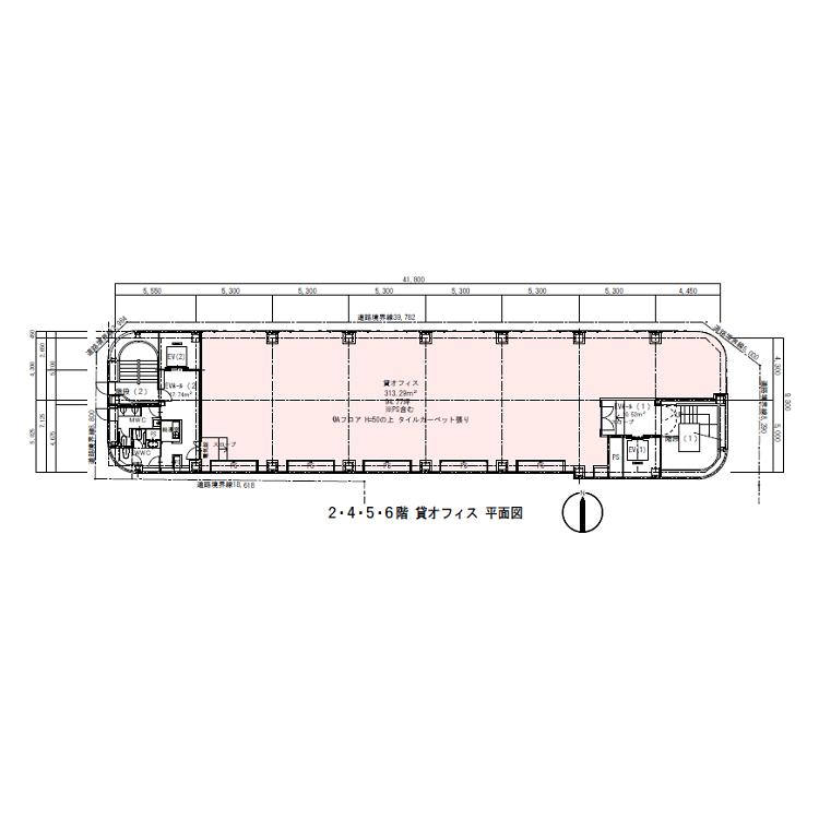 栄2 岩田ビル 平面図