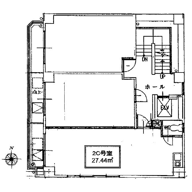 千代田2 マルエムビル 平面図