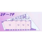 名駅3 IT名駅ビル 平面図