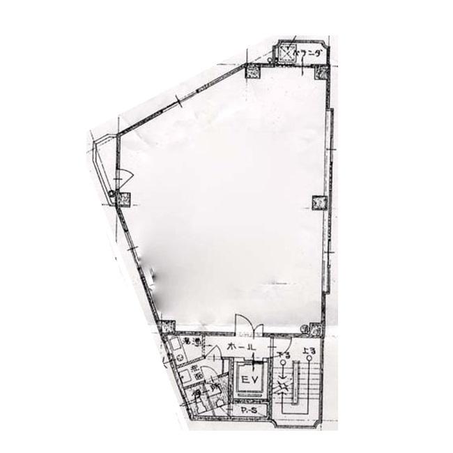 名駅2 OA第一ビル 平面図