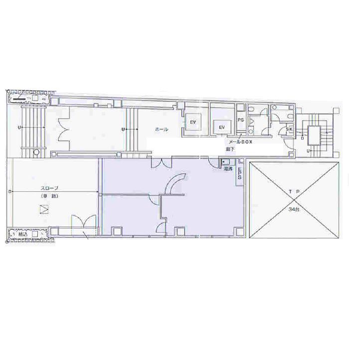 丸の内1 清原名古屋ビル 平面図