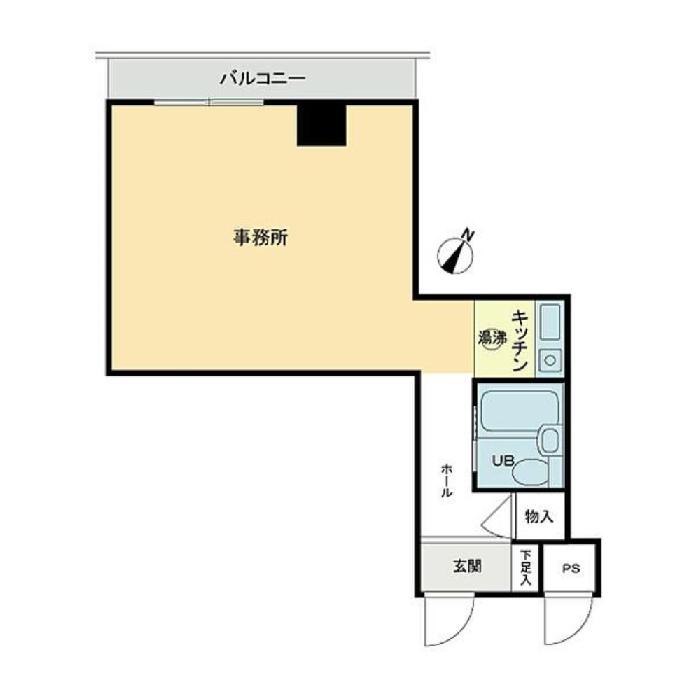 栄2 ダイアパレス伏見 平面図