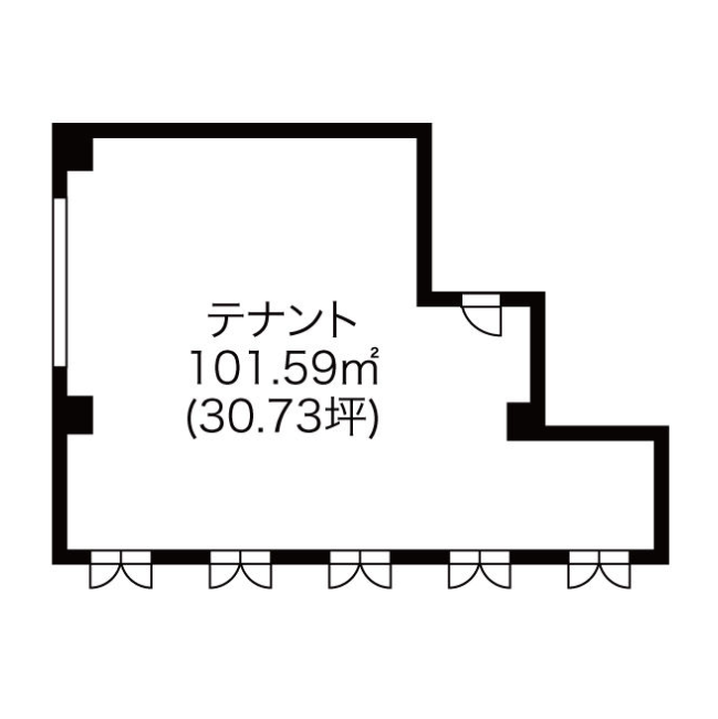 栄5 坪井南久屋ビル 平面図