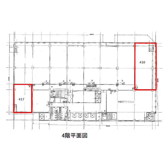 錦1 名古屋伊藤忠ビル 平面図