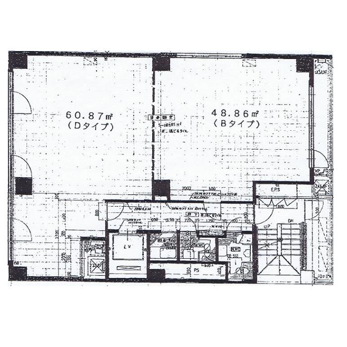 葵1 オフィスサンナゴヤ 平面図