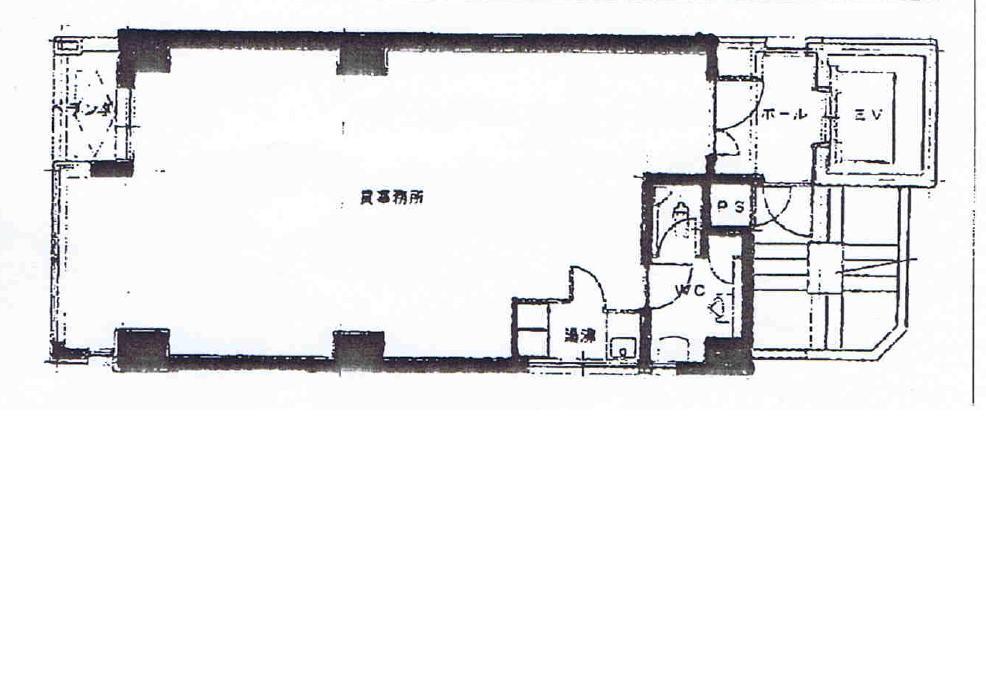 栄1 丸茂御園ビル 平面図