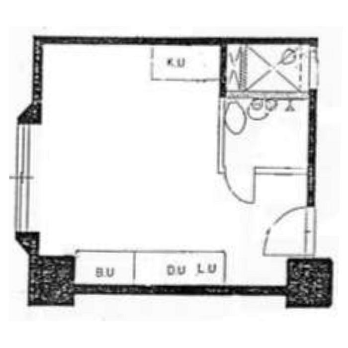名駅2 セントラル名古屋 平面図