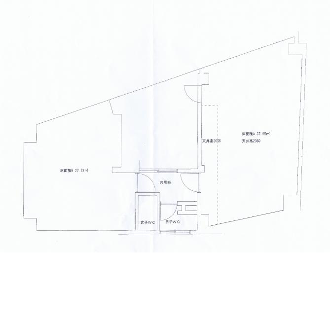 名駅5 いとうビル 平面図