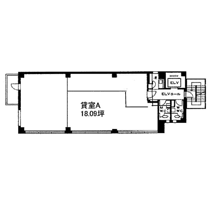 丸の内2 セブン丸の内ビル 平面図