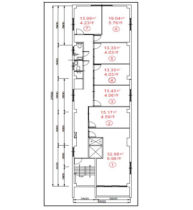 丸の内2 DK丸の内ビル 平面図