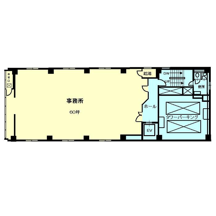 東桜1 ヒシタビル 平面図