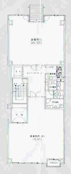丸の内3 丸の内ヒビノオフィスラインズ 平面図